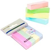 Бумажные закладки с липким краем (400л. 4цв.)