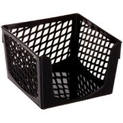 Бокс для бумажного блока 9х9х7см (пластик)