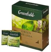 Чай Гринфилд Green Melissa (зеленый)
