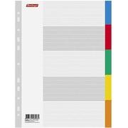 Разделитель цветной для документов (1-5)