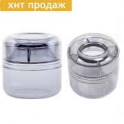 Скрепочница с магнитным кольцом (пластик)