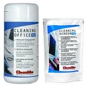 Bлажные салфетки для мониторов и техники Cleanlike