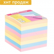 Цветной блок для записей (90х90; 900л)