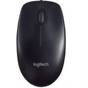 Мышь компьютерная проводная Logitech B100