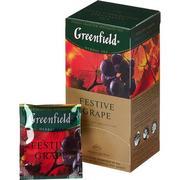 Чай Гринфилд Festive Grape (красный)