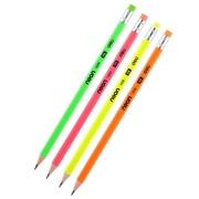 "Простой карандаш HB с ластиком ""Deli Neon"""