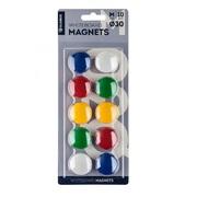 Магниты для магнитно-маркерной доски 10шт 30мм
