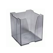 Бокс для бумажного блока 9х9х9см (пластик)