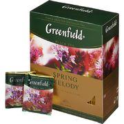Чай Гринфилд Spring Melody (черный)