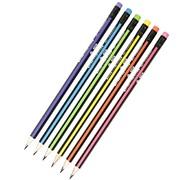"""Простой карандаш HB с ластиком """"Neon"""""""