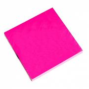Бумага с липким краем NEON розовый (76х76; 100л)