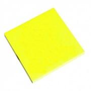 Бумага с липким краем NEON желтый (76х76; 100л)